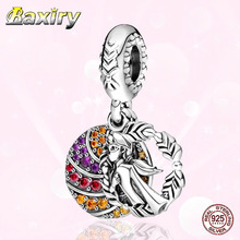 Luxury Charms Bracelet DIY  Beads 100% 925 Sterling SilverFit Charms Silver 925 Original Christmas Gift Women Jewelry Making