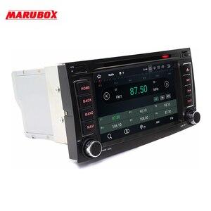 Image 2 - Marubox 7A808PX5 DSP, 4GB 64GB 2 Din Máy Nghe Nhạc Đa Phương Tiện Cho Touareg 2003 2011, cho Multivan 2003 DVD Năm 2014 Đài Phát Thanh, Android 9.0