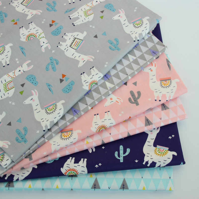 New print Cotton Twill Fabric  Kids 100% Cotton Cloth By Meter for DIY sewing Upholstery Bed Quilting Cotton Material