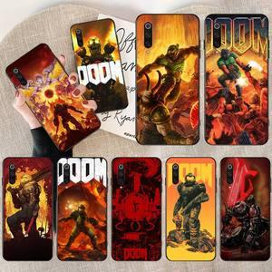 PENGHUWAN EWAU skull game Doom Black TPU Soft Rubber Phone Cover for Redmi Note 8 8A 7 6 6A 5 5A 4 4X 4A Go Pro Plus Prime