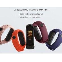 M4 Smart Bracelet Fitness Heart Rate Monitor Health Sphygmomanometer Pedometer