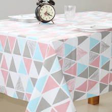 Geometric Table Cloth Tablecloth Nappe Table Cover Party Wedding Table Cloth for Home Table Decoration Mantel Home Textile novel circular mesh pattern lace round tablecloth transparent christmas party wedding tea table mat decoration mantel nappe