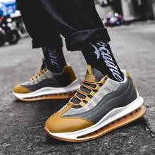 Роскошная брендовая мужская спортивная обувь с амортизацией, мужская спортивная обувь, нескользящая прогулочная мужская обувь, удобная спортивная мужская обувь для бега
