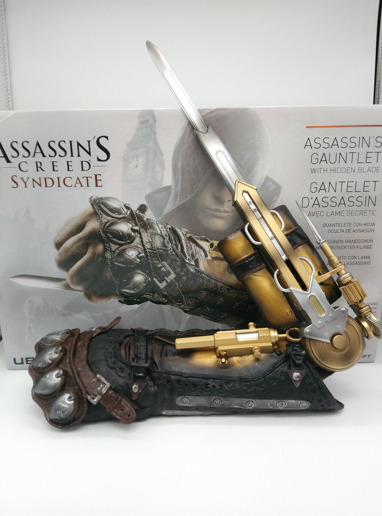 Assassins creed hidden blade sleeve sword action figure not weapon toy ejection