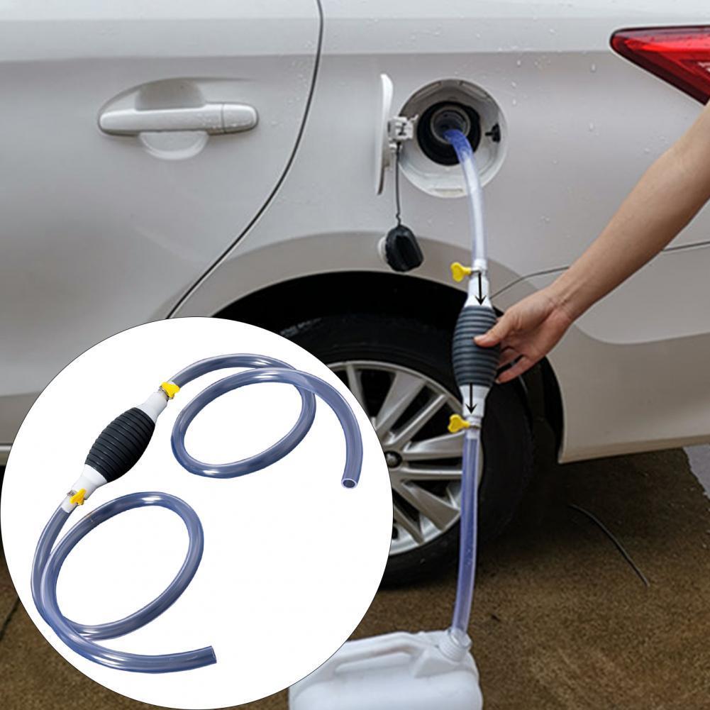 Hand Fuel Pump Portable Anti static Plastic Car Fuel Tank Siphon ...