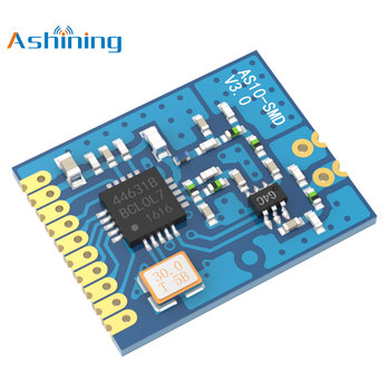 Ashining AS10-SMD 433Mhz SI4463 2km Smd 20dBm 100mW Rf  SPI AS10-SMD Port Wireless Transmitter and receiver Module as10 15 48 page 5