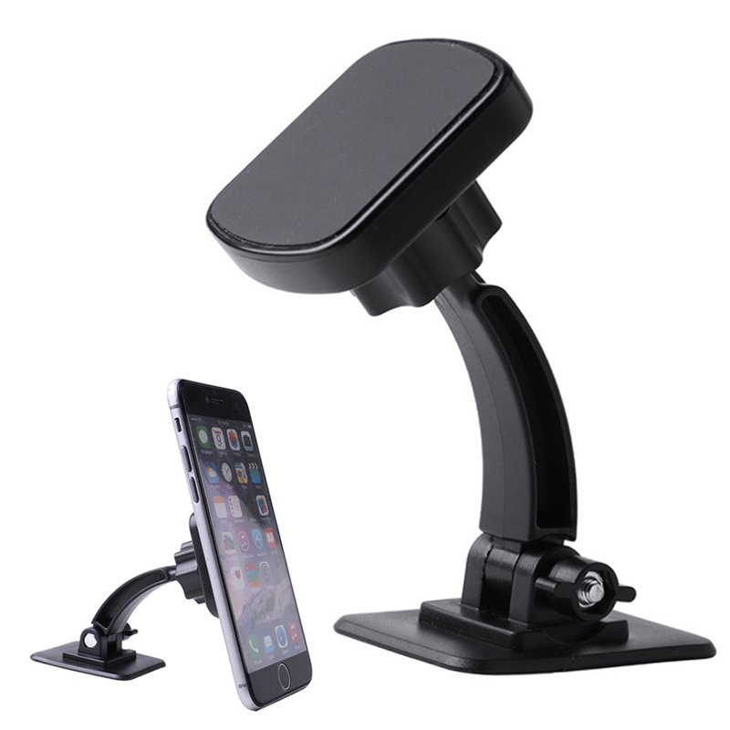 360 Degree Rotation Sucker Car Phone Holder 360 Mount Car Stand Magnetic Support For IPhone X Max Xiaomi