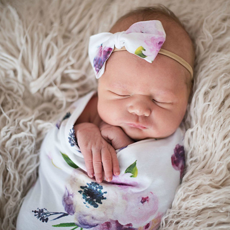 Baby Hospital Swaddle Sack Swaddle Sack Baby Swaddle Wrap Newborn Sage Swaddle With Headband Sleep Sack Newborn Photography Prop