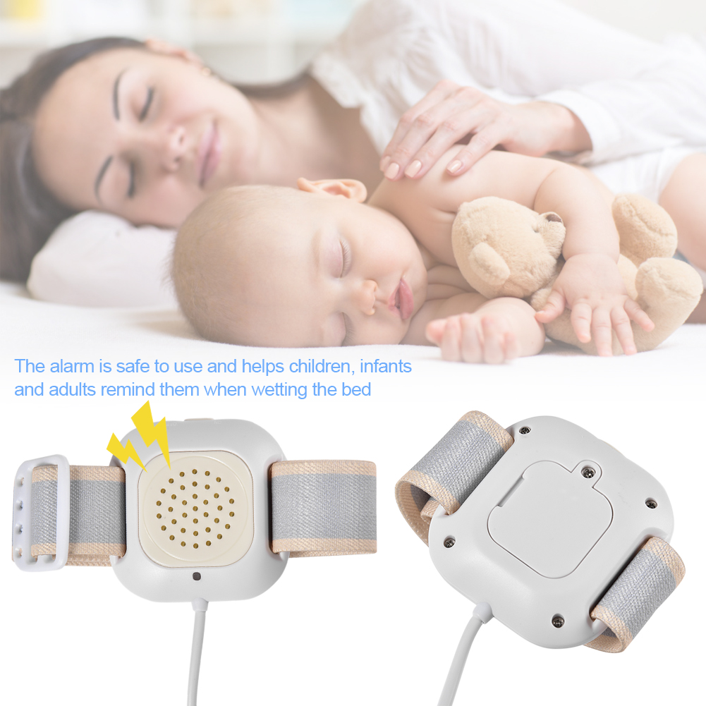 Wetness Alarm Bed Wetting Alarm For Baby Kids Bed Wetting Enuresis Alarm Nocturnal Wetting Alarm Potty Training Convenient