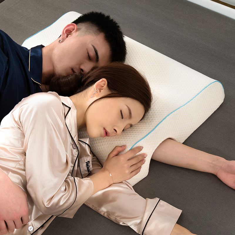 New Style Couple Pillow Slow Rebound Memory Pressure Pillow Anti-Hand Paralysis Pillow Duet Protection Cervical Pillow