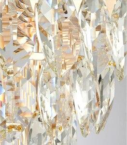 Image 5 - Crystal chandelier living room luxury modern villa simple creative designer American bedroom dining room lamps