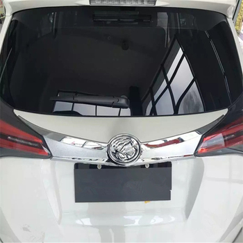 WELKINRY car cover For Toyota RAV4 RAV 4 IV XA40 2016 2017 2018 2019 rear tail box gate back door trunk boot logo trademark trim image