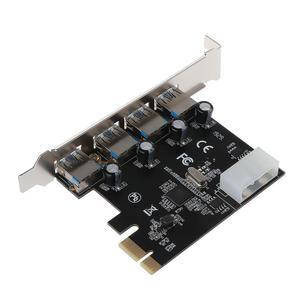 4 Port PCI-E to USB 3.0 HUB PC
