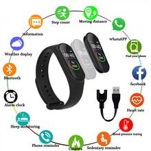 M4 Smart Wristband Bracelet Band 4 Waterproof Blood Pressure Heart Rate Monitor Fitness Tracker Watch