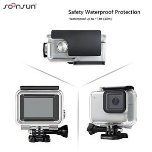 Image 3 - SOONSUN 40 M กันน้ำใต้น้ำป้องกัน 3 Pack กรองเลนส์ดำน้ำสำหรับ GoPro HERO 7 SILVER /สีขาว Go Pro 7