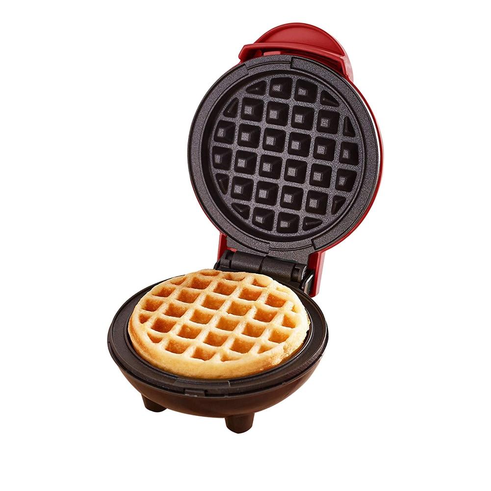 Электрическая мини-вафельная машина, жареный яичный торт