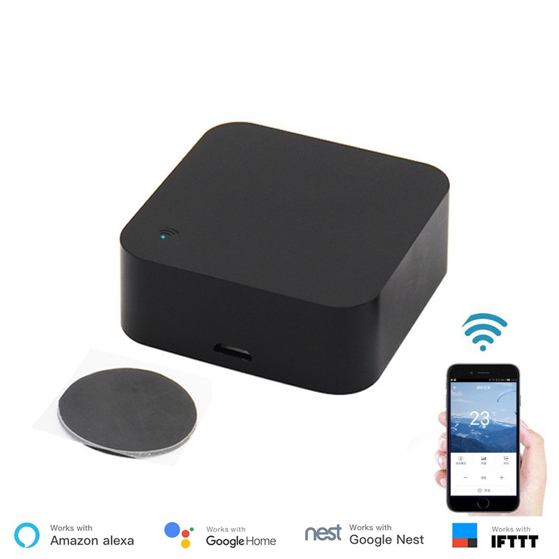 S06 Mini Smart 2.4GHz WIFI IR Remote Controller With Alexa, Google Home Intelligent Universal Infrared AC TV Home Automation