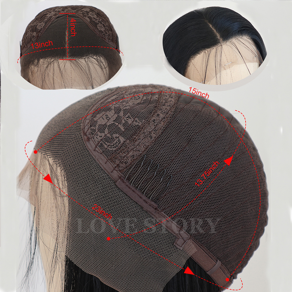curto bob resistente ao calor peruca de cabelo reto sintetico 05