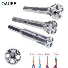 Oauee elektryczne narzędzie do skręcania drutu 2 ~ 5 otworów elektryk uniwersalne automatyczne skręcanie ściąganie przewodów podwojenie złącza maszyny