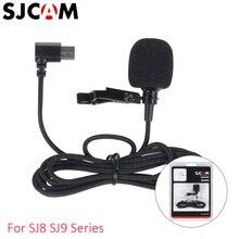 Original SJCAM SJ8 SJ9 accessoires type c connecteur micro externe pour SJ8 série SJ9 Strike Max 4K Sport Action caméra