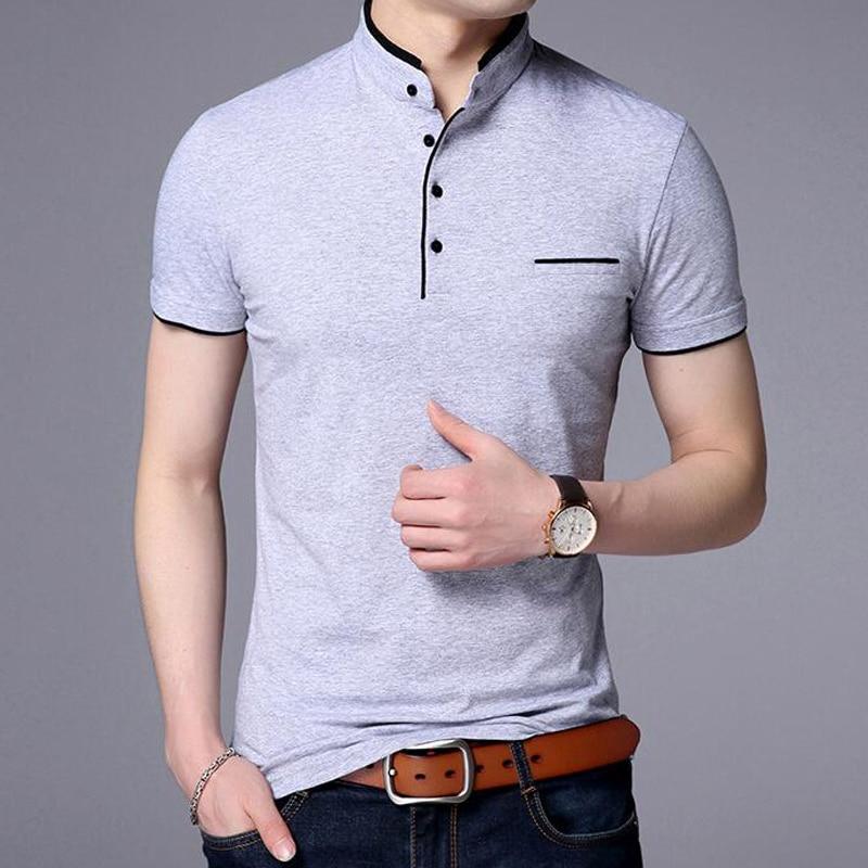 Summer Polo Shirt Men Casual Cotton Solid Color Poloshirt Men's Breathable Tee Shirt Golf Tennis Brand Clothes Plus Size 5XL Men Men's Clothings Men's Polo Shirts Men's Tops cb5feb1b7314637725a2e7: black gray light green Navy blue Red White
