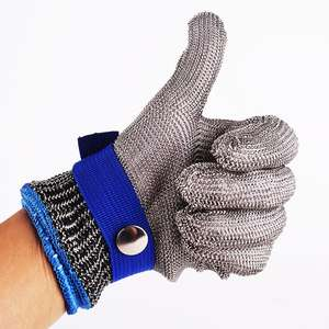 Anti-Cut-Gloves Wire Cut-Proof Butcher Stab-Resistant Safety Stainless-Steel Metal Mesh