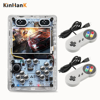 New 3.5 Inch Raspberry Pi 3B Game Consoles With Four SENS Gamepad Game pad For Video Game Console Player With Over 10000 Games