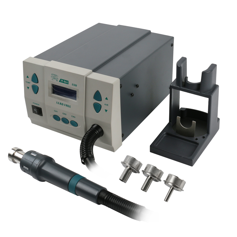 ST-861 Lead-free Adjustable Hot Air Gun Rework Station Soldering 1000W 220V For Phone CPU Chip Repair Same QUICK 861DW