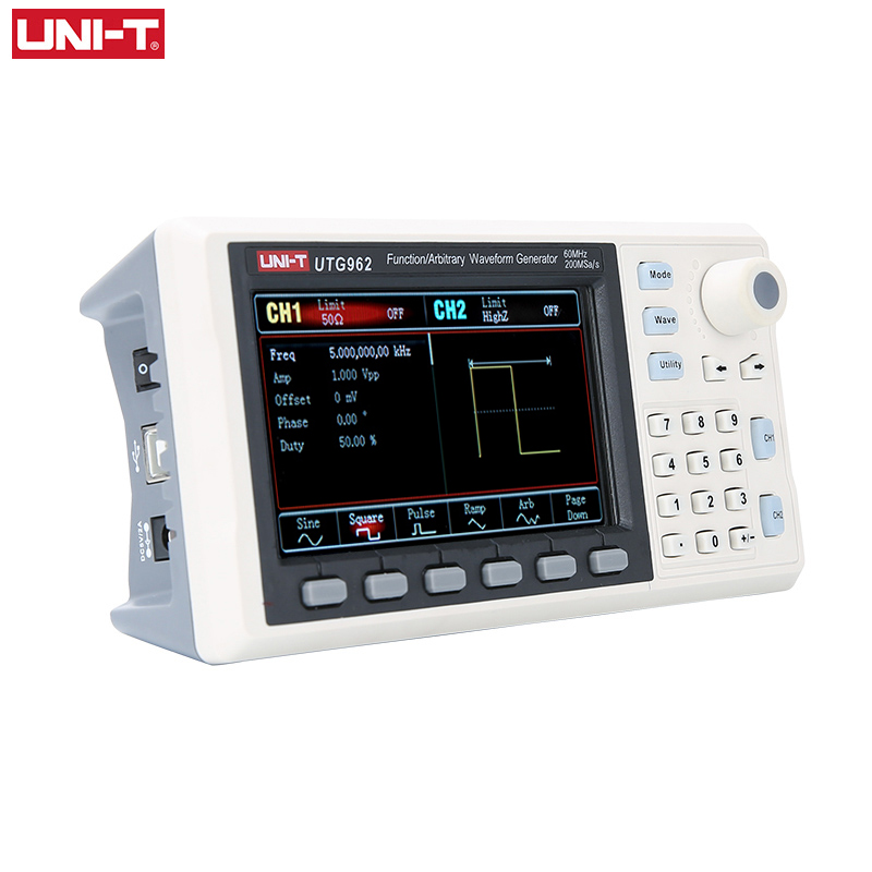 60Mhz Wave Waveform UNI Singal UTG932 Arbitrary Generator UTG962 Frequency T Function Generator 30Mhz Dual Channel Sine