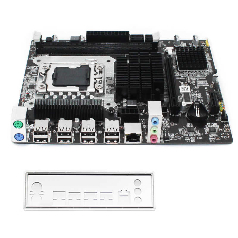 MACHINIST H55 płyta główna LGA 1156 obsługuje DDR3 32G RAM i Intel I3/I5/I7 CPU pci-express USB3.0 porty płyta główna płyta główna