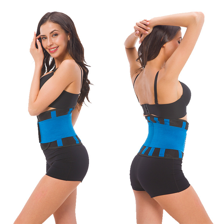 -Hot Sales Men And Women Fitness Lumbar Support Nursing Postpartum Belly Band Adjustable Waist Support Pressure Belt Waist Suppo