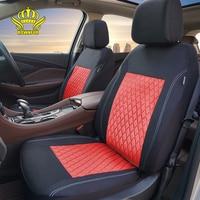 Fundas de asiento de automóviles, fundas de juego completo de asiento de coche, ajuste universal Compatible con la mayoría de los accesorios de interior de vehículo, Protector de Color