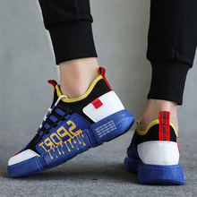 Summer Sneakers Breathable Mens Casual Shoes Mesh Fashion Running Sport Design Brand Best Selling Explosion