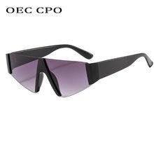 Новые модные солнцезащитные очки без оправы для мужчин и женщин
