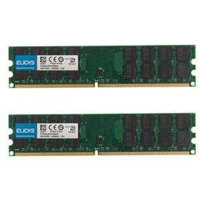 Image 1 - 8 Гб комплект 2 шт. 4 Гб PC2 6400 DDR2 800MHZ 240pin настольных компьютеров AMD Оперативная память 1,8 V SD Оперативная память только для AMD не для INTEL Системы