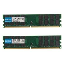 8GB kit 2 pièces 4GB PC2 6400 DDR2 800MHZ 240pin AMD ordinateur de bureau de mémoire Ram 1.8V SDRAM uniquement pour AMD pas pour le système INTEL