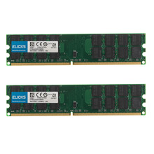 Kit de memoria Ram para ordenador de escritorio AMD, de 8GB PC2-6400, 2 uds., 4GB, DDR2-800MHZ, 240 pines, 1,8 V, SDRAM, solo para AMD, no para sistema INTEL