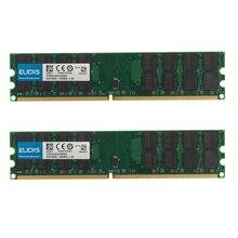 Kit de memoria Ram para ordenador de escritorio AMD, de 8GB PC2 6400, 2 uds., 4GB, DDR2 800MHZ, 240 pines, 1,8 V, SDRAM, solo para AMD, no para sistema INTEL