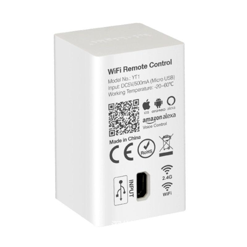 Miboxer YT1 Remote WIFI LED Controller Amazon Alexa Voice Control WiFi Wireless & Smartphone APP Work With Milight 2.4G Series