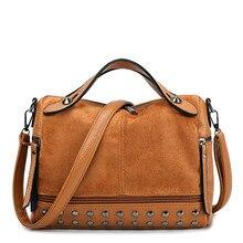 New Fashion Women Rivet Tote Women Bags Designer Handbags Ladies pu Leather Bag For Women Crossbody Bag Large Capacity Bag недорго, оригинальная цена