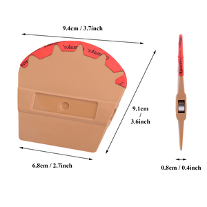 Image 5 - FOSHIO מגנטי מגב רכב מדבקה ויניל לעטוף מיקרופייבר הרגיש מגרד חלון גוון כלי מגנט סיבי פחמן סרט מוליך