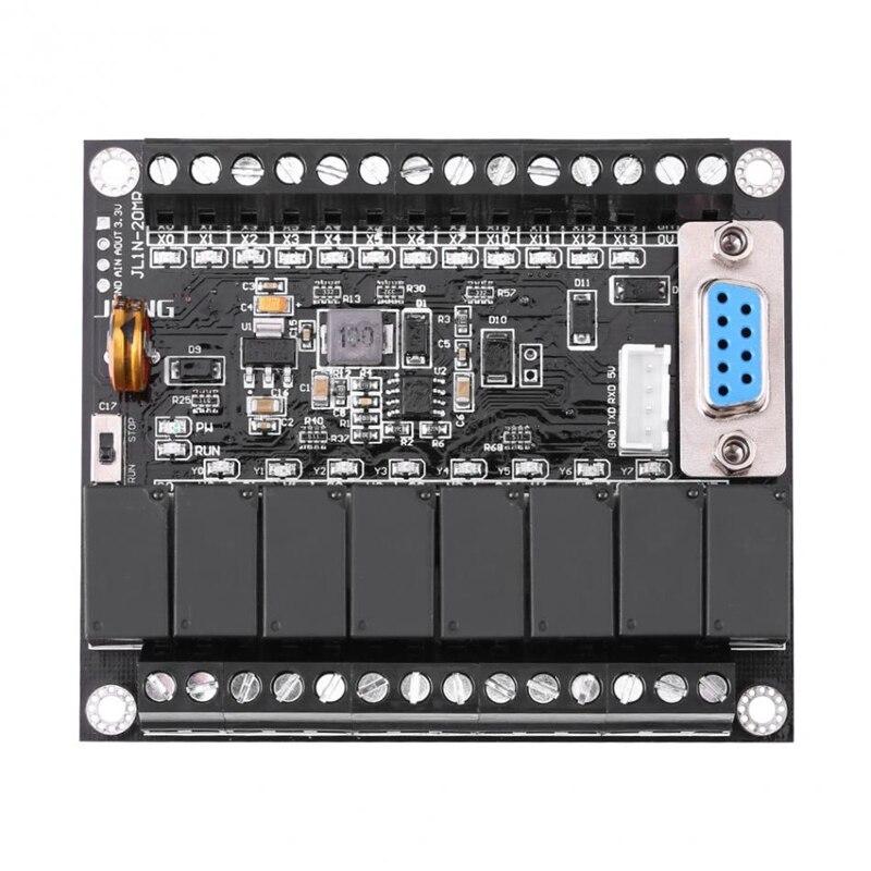 MOOL DC 24V PLC Regulator FX1N-20MR Industrial Control Board Programmable Controller Module
