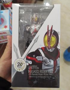 Image 4 - Japan Anime SHF Masked Rider Faiz 20 Kamen Rider Kicks Ver. BJD Action Figure Model Toys