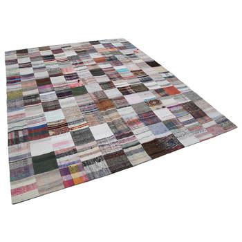 242X300 Cm Multicolor Handgemaakte Tapijten Patchwork Rug-8x10 Ft