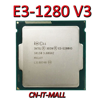 Intel Xeon E3-1280 V3 CPU 3.6GHz 8M 4 Core 8 Threads LGA1150 Processor