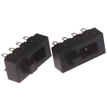 2 sztuk 12A 250V 3 pozycja 8 Pin przełącz przełączniki suwakowe LQ-103H suszarka do włosów przełączniki tanie i dobre opinie 8Pin Toggle Switch
