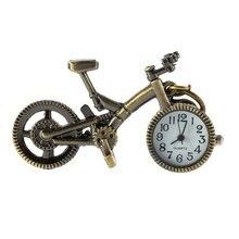 Ретро Мини Бронза Велосипед Велосипед Дизайн Кварц Карман Часы Кулон Ожерелье Цепочка Подарок Для Друзей Детей Мальчиков relogio 2020