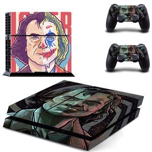 Image 2 - DC Bộ Phim Joker PS4 Dán Play Station 4 Miếng Dán Da Trò Chơi Tường Cho Máy Chơi Game PlayStation 4 PS4 Tay Cầm & Bộ Điều Khiển da Vincy