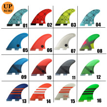 yellow,black,orange,white,green Fin G7 Surfboard
