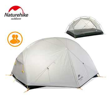 Naturehike New Mongar 2 Tent, 2 Person Camping Tent Outdoor Ultralight 2 Man Camping Tents With Vestibule - Category 🛒 Sports & Entertainment